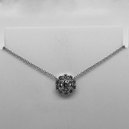 0.79Ct Diamond Necklace