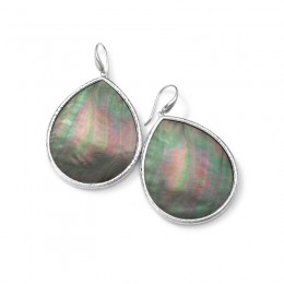 IPPOLITA Ondine Large Teardrop Black slice