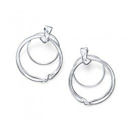 IPPOLITA Classico Folded Door Knocker Earrings