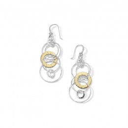 IPPOLITA Chimera Classico Hammered Jet Set Earrings
