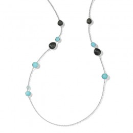 IPPOLITA Rock Candy® Mixed Stone Long Necklace in Maritime