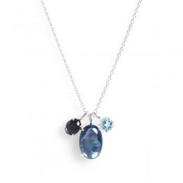 IPPOLITA Rock Candy® 3-stone Pendant in Cascata Color Palette