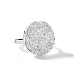 IPPOLITA Stardust Medium Flower Ring with Diamonds