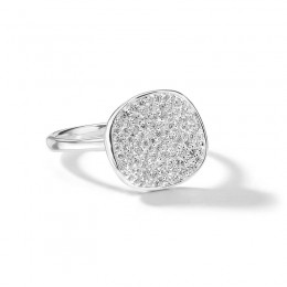 IPPOLITA Stardust Small Flower Ring with Diamonds
