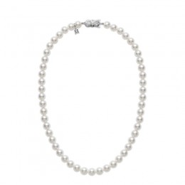 "Mikimoto Cultured Pearl 16"" Necklace"